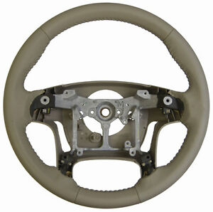 2011 2014 Toyota Sienna Steering Wheel Tan Leather W Dimples New 4510008210e0