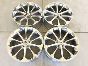 20 20 Inch Oem Factory Genuine Ford Taurus Wheels Rims Polished 10 Spoke 3927