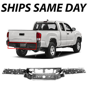 New Steel Rear Center Bumper Face Bar For 2016 2018 Toyota Tacoma Pickup 16 18