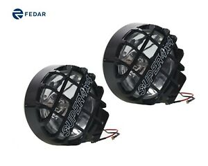 2pcs Universal Hid Off Road Lights Fog Driving Lamps Pair For Suv Truck Pickup