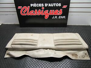 1969 1970 Mustang Mach1 Sportroof Fastback Rear Seat With Hinge And Backrest