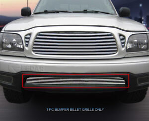 Lower Bumper Billet Grille Insert For 2001 2002 2003 2004 Toyota Tacoma