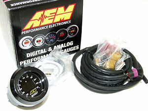 Aem 30 4406 52mm Electronic 30 35psi Turbo Boost Gauge Meter