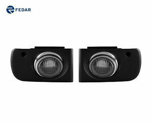 Clear Lens Fog Lights Driving Lamps Pair For 1994 2001 Acura Integra Coupe Sedan
