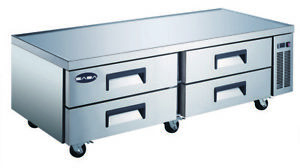 Heavy Duty Refrigerated Chef Base 72 With 4 Drawers