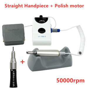 Dental Portable Electric Polisher Micro Motor Straight Handpiece