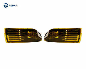 2 Peices Yellow Lens Bumper Fog Lights Driving Lamps For 2005 2009 Scion Tc