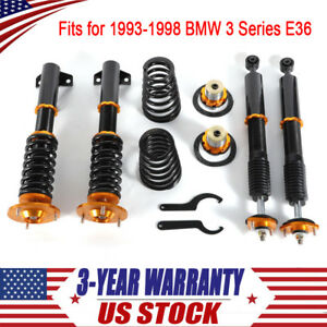 Coilovers Kit For 1993 1998 Bmw 3 Series E36 318 323 325 328 Shock Absorbers New