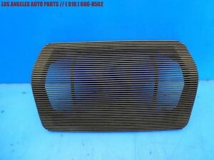 Porsche 924s 944 Early Dash Speaker Cover Grille Trim 477857187 Brown