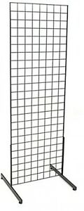 Store Fixtures Grid Storage Hook Product Hang Display Stand Unit Organizer Kit