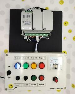 Allen bradley Micro820 Programmable Ccw Plc Trainer Micro800 Training Kit