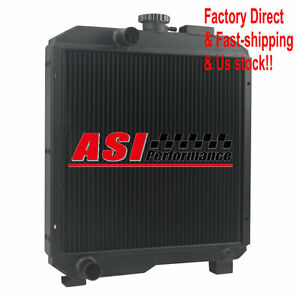Asi Sba310100630 2row Aluminum Radiator For Ford New Holland Tractor 1715