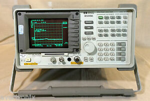 Agilent hp 8595e Spectrum Analyzer 6 5ghz W Narrow Bandwidth And Nf Options