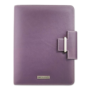 Planner Day Runner Terramo Refillable Eggplant Color 5 5 X 8 5 Inches 4010214