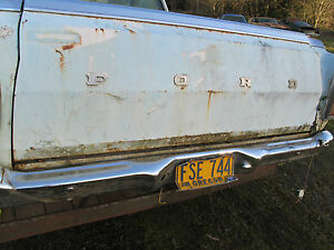 1968 1969 Ford Ranchero Oem Tail Gate