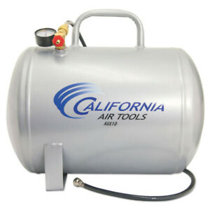 California Air Tools 10 Gal Portable Steel Air Tank Cataux10 New