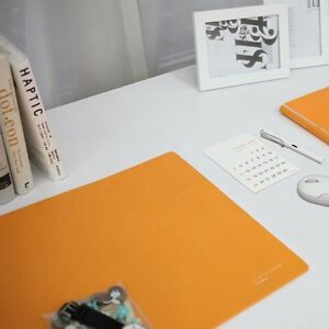 Satechi Desk Mat Mate 24 X 14 Desk Pad Protector Laptops Orange Mouse Pad