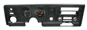 Dakota Digital 69 Pontiac Firebird Analog Gauge System Black Red Vhx 69p fir k r