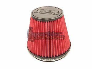 Blox Racing 6 Round Tapered Universal Dry Air Intake Cone Filter Car Truck Suv
