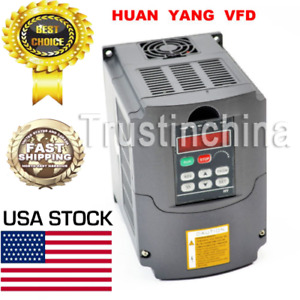 2 2kw 220v Variable Frequency Drive Inverter Vfd 3hp 10a Hy02d223b Us Stock