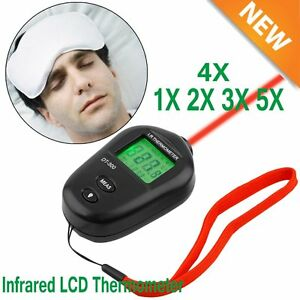 Lot Mini Infrared Temperature Gun Thermometer Lcd Ir Laser No contact Digital Oy