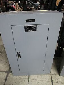 Ge Main Circuit Breaker Panel Aqf3241abx Axb4 100a Main Breaker 125a 208y 120v