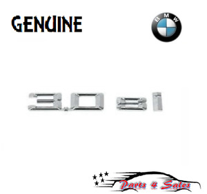 Genuine Bmw E83 X3 Fender Left right 3 0 Si Emblem Genuine 51143416265 New