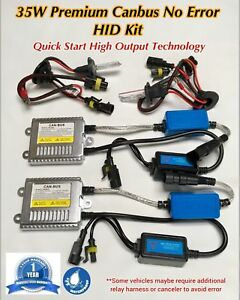 Low Beam 9012 35w Evo Canbus Ac Hid Xenon Slim Ballast For 15 16 Challenger