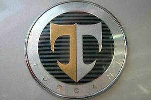 Hood Emblem Badge For 2007 2008 2009 Hyundai Tiburon Coupe Tuscani