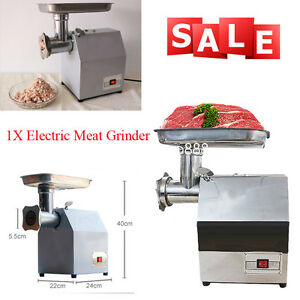 Compact Stainless Steel Electric Meat Grinder Kitchen Tool For Family Restaurant