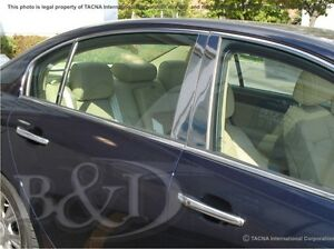 CHROME PILLAR POSTS FITS ON HYUNDAI GENESIS 2009-2014