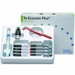 10 X Ivoclar Vivadent Teeconom Plus Dental Resin Composite Kit