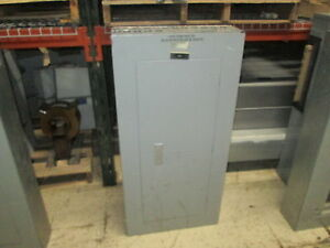 Siemens Main Circuit Breaker Panel Cdp 7 208y 120 3ph 4w 100a Main 42 slot Used