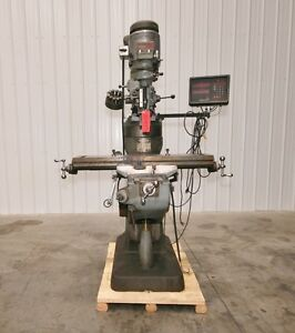 12445 Bridgeport Series I Vertical Mill 9 X 42 Table