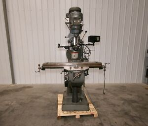 12484 Bridgeport Series I Vertical Mill 9 X 42 Table