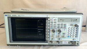 Hp Agilent 54520c 2 Channel 1 Gsa s Color Digitizing Oscilloscope fully Tested