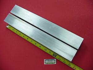 2 Pieces 2 X 2 Aluminum 6061 Square Bar 15 Long T6511 2 00 Solid Flat Stock