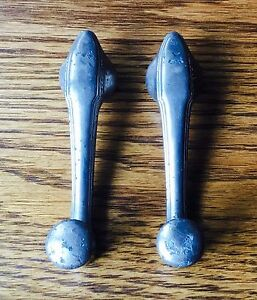 1931 1932 Oldsmobile Window Crank Door Handles Vtg Original 1920s 30s Olds