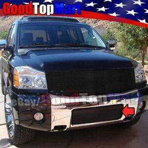 For Nissan Armada 2004 2005 2006 2007 1pc Lower Bumper Black Grille Replacement