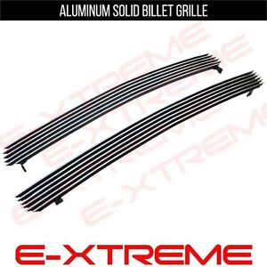 Billet Grille Grill Cut Out For Chevy Silverado 1500 1999 2000 01 02 Upper 2pcs