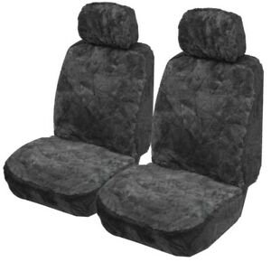 Explorer Diamond Pattern Sheepskin Size 30 lambswool Seat Covers Pair