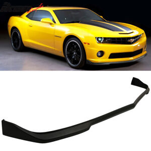 Fits 10 13 Chevy Camaro Ss 2dr Cs Style Front Bumper Lip Spoiler Urethane Pu