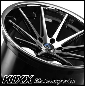 22 Rohana Rc10 22x9 Black Silver Concave Wheels Rims For Range Rover Sport Hse