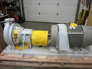 Sulzer Cpt 33 4 6 X 4 X 17 Centrifugal Pump With Siemens 150 Hp Motor