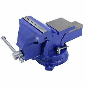 Hfs r 5 Heavyduty Bench Vise Anvil Forged 360 Swivel Locking