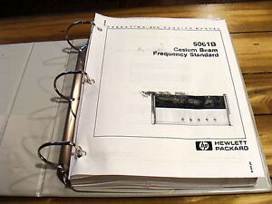 Agilent Hp 5061b Cesium Beam Frequency Standard Operation Service Manual