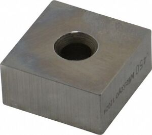 Mitutoyo 0 45 Square Steel Gage Block Accuracy Grade 0 Includes Certificate