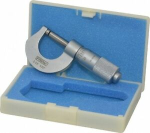 Fowler 0 To 1 2 Range 0 001 Graduation Mechanical Outside Micrometer Fric