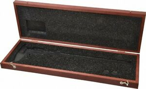 Starrett 12 Oal Wood Caliper Case 1 Piece For Use With 798 Series 0 12 3