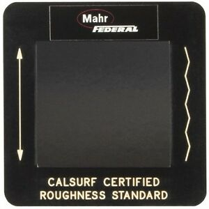 Mahr Federal Surface Roughness Gage Specimen For Use With Pocket Surf Portabl